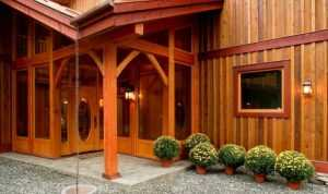 wooden home protection